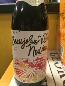 Beaujolais-Villages Nouveau has arrived.